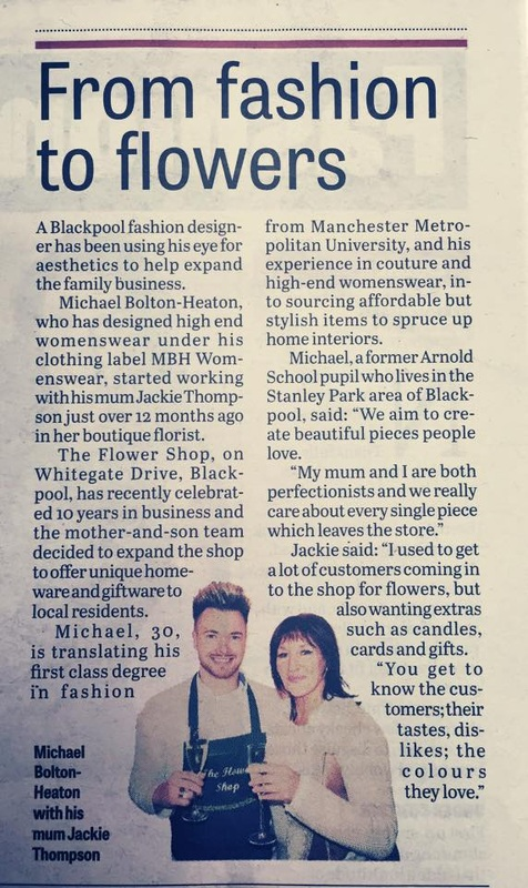 Florist Blackpool Gazette